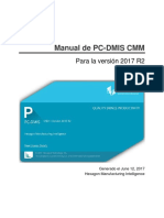 Spa Pcdmis 2017r2 Cmm Manual