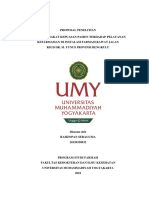 Contoh Proposal Skripsi (Analisis Tingkat Kepuasan Pasien terhadap pelayanan Kefarmasian)