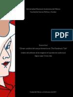 Ofmen análisis del cuerpo femenino en The Handmaid's Tale