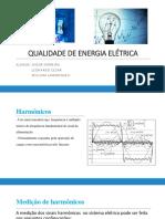 Qualidade de Energia Elétrica - Trabalho (1)