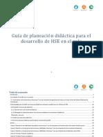 Guía planeación didáctica