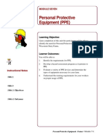 Mod 7 PPEInstructorNotes