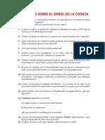 CUESTIONES SOBRE EL ÁRBOL DE LA CIENCIA