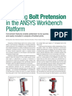 Bolt Pretension Ansys
