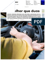 O SISTEMA 4CONTROL EM ENSAIO NA AUTO DRIVE