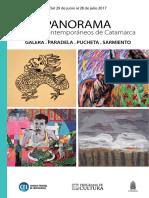 LIGHTOWLER María - Desplazamientos aéreos. Panorama. 4 artistas de Catamarca. CFI