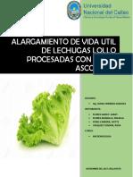 Lechugas Procesadas Con Acido Ascorbico