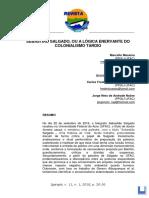 MESSINA, DI SOMMA, OLIVEIRA, NOBRE (2018) Sebastiao Salgado Ou a Logica Enervante do Colonialismo Tardio