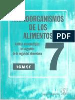 MICROORGANISMOS DE LOS ALIMENTOS