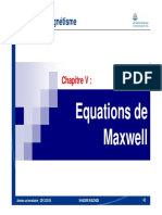 Chapitre 5 Equations de Maxwell