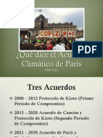 Acuerdo de Paris Final