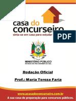 Apostila Mpe Redação Oficial Maria Tereza