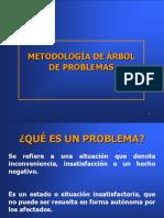ÁRBOL DE PROBLEMA