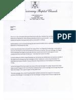 "Open Letter regarding the ""gang of five"""