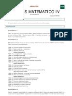 análisis matemático iv - guía