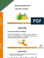 Proceso Administrativo Dirección y Control
