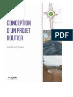 Conception d'un projet routier - Guide technique.pdf