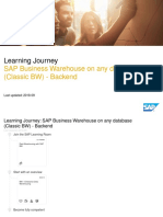 SAP Business Warehouse on Any Database (Classic BW) - Backend_2018-09