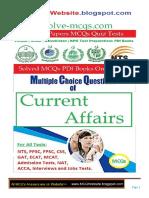 Current Affairs MCQs Book 3