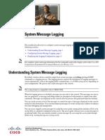 Sys MSG Logging Cisco