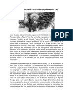 Biografía de Doroteo Arango (Pancho Villa)