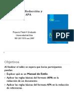 Manual Taller APA