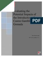 The Potential Impact of Casino Gambling in Grenada