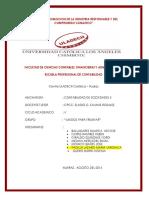 Contabilidad de Sociedades II Rsu Tarea Grupal..
