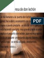 La Sorpresa de Don Lechón