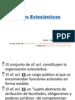 DCI 6. Oficioeclesiatico - Copia derecho canonico ucsg