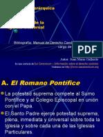 DCI 17. Estructuras de La Iglesia Universal derecho canonico ucsg