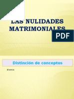 Las Nulidades Matrimoniales 1 derecho canonico ucsg