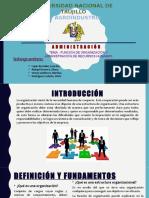 Funcion Organizacional y Admin RH