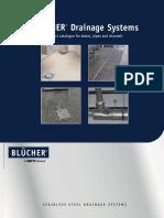 Catálogo Blucher - Sistemas de drenaje