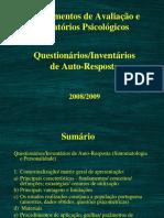 Instrumentos de Avaliacao e Rel Psicologicos