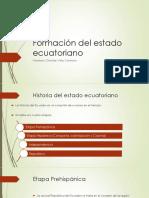 2 Formacion Del Estado Ecuatoriano
