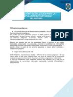 Rotulacion y Señalizacion Para El Manejo de Sustancias Peligrosas.
