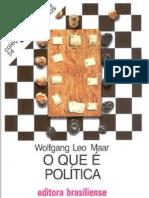 MAAR, W. O que é política.pdf