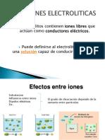 Soluciones electroliticas