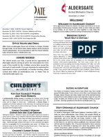 Bulletin Supplement November 11 2018PDF