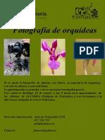 Cartel Orquideas 2015