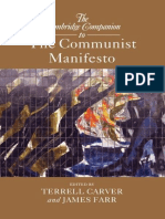 The Cambridge Companion to the Communist Manifesto - Terrell Carver & James Farr