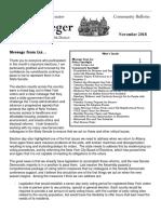 Senator Krueger's Community Bulletin - November 2018