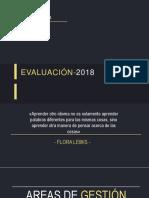 evaluacion 2018