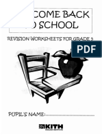 English worksheets 5 years dossier5e