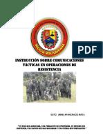 Comunicaciones Tacticas en Combate de Resistencia