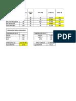 Tabla en Formato Excel