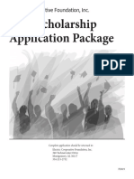 2019 ecf scholarship application