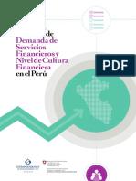 Encuesta Nacional de Demanda de Servicios Financieros y Nivel de Cultura Financiera en El Perú
