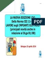 Nanni Presentazione Convegno Bologna 1504